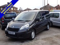USED 2015 65 PEUGEOT EXPERT 2.0 HDI TEPEE COMFORT WHEELCHAIR ACCESS WAV WHEELCHAIR ACCESS WAV 4 SEATS