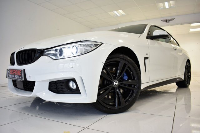2014 64 BMW 4 SERIES 435D XDRIVE M SPORT COUPE AUTOMATIC