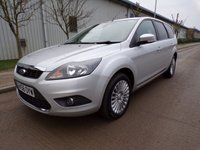 USED 2008 58 FORD FOCUS 2.0 TITANIUM TDCI 5d 136 BHP ESTATE ONLY 67,000 MILES 1 OWNER PART EXCHANGE AVAILABLE / ALL CARDS / FINANCE AVAILABLE