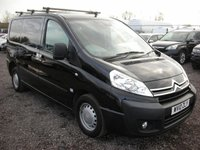 2010 CITROEN DISPATCH 1.6 1000 L1H1 ENTERPRISE HDI 90 1d 89 BHP £4000.00