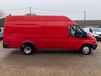 USED 2013 13 FORD TRANSIT 2.2 460 125 RWD XLWB JUMBO 125 BHP