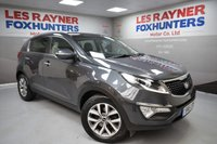 USED 2015 15 KIA SPORTAGE 1.7 CRDI 2 ISG 5d 114 BHP Cruise control, Privacy Glass, Bluetooth, Dual zone climate, Electric glass roof