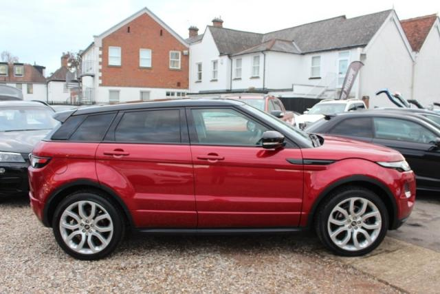 LAND ROVER RANGE ROVER EVOQUE at Kiteley Motors
