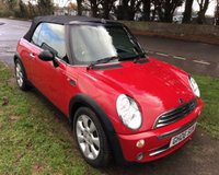 2006 MINI CONVERTIBLE 1.6 ONE 2DR £3650.00