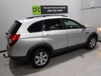 USED 2012 S CHEVROLET CAPTIVA 2.2 LT VCDI 5d AUTO 184 BHP A REAL EXAMPLE OF A STUNNING AND VERY WELL LOOKED AFTER 4X4 VEHICLE , WITH ONE OWNER AND FULL HISTORY,  FINISHED IN GLEAMING SILVER AND CONTRASTING BLACK HEATED HALF LEATHER SEATS , SEVEN SEATS , FRONT SPOT LIGHTS, PARKING SENSORS,, PRIVACY GLASS, CRUSE CONTROL , AUX USB LEAD, AUTO HEAD LAMPS, , BLUE TOOTH PHONE PREP SEVEN SEATS