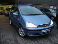 USED 2004 04 FORD GALAXY 1.9 GHIA TDI 5d 115 BHP ANY PART EXCHANGE WELCOME, COUNTRY WIDE DELIVERY ARRANGED, HUGE SPEC