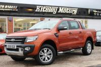 USED 2015 15 FORD RANGER 3.2 TDCi Wildtrak Double Cab Pickup 4x4 4dr (EU5) Zero Deposit Low Rate Finance Available