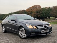 2009 MERCEDES-BENZ E CLASS 3.0 E350 CDI BLUEEFFICIENCY SE 2d AUTO 231 BHP £7375.00