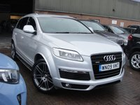 USED 2009 D AUDI Q7 3.0 TDI QUATTRO S LINE 5d AUTO 240 BHP ANY PART EXCHANGE WELCOME, COUNTRY WIDE DELIVERY ARRANGED, HUGE SPEC