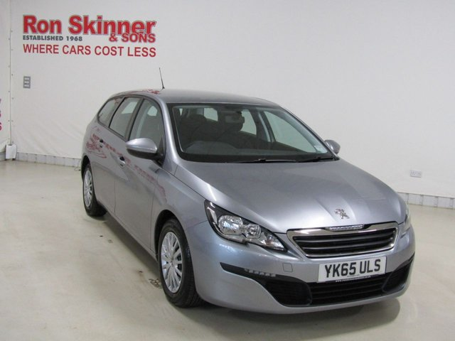 View our 2015 65 PEUGEOT 308 1.6 BLUE HDI S/S SW ACCESS 5d 100 BHP