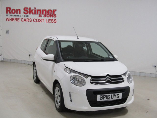 View our 2016 16 CITROEN C1 1.0 FEEL 3d 68 BHP