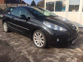 2011 PEUGEOT 207 1.6 CC GT 2d Low Mileage, Stunning Cream Leather - WOW...!!! £4495.00