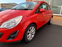 USED 2012 12 VAUXHALL CORSA 1.2 ACTIVE 3d 83 BHP
