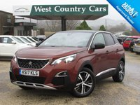 USED 2017 17 PEUGEOT 3008 1.2 PURETECH S/S GT LINE 5d 130 BHP Only 1 Lady Owner From New