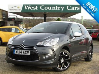 2014 CITROEN DS3 1.6 E-HDI DSTYLE PLUS 3d 90 BHP £6500.00