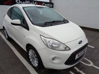 USED 2011 11 FORD KA 1.2 ZETEC 3d 69 BHP £56 A MONTH £30 ROAD TAX FULL SERVICE HISTORY 7 STAMPS IDEAL TOWN CAR OR FIRST CAR ECONOMICAL MOTORING WITH FORD RELIABILITY
