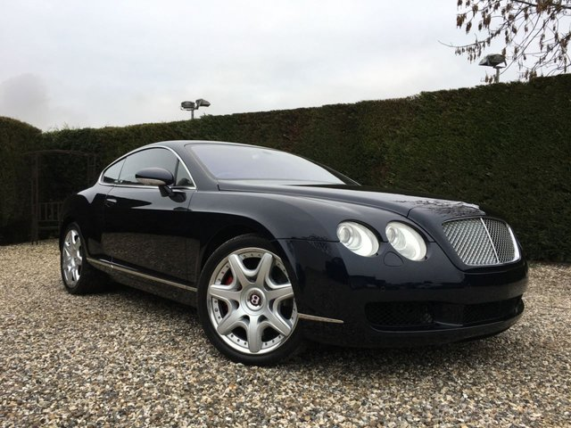 USED 2005 55 BENTLEY CONTINENTAL 6.0 GT 2d AUTO 550 BHP