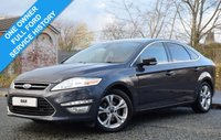 USED 2014 64 FORD MONDEO 2.0 TITANIUM X BUSINESS EDITION TDCI 5d AUTO 161 BHP 56,000 MILES! 1 OWNER! FULL FORD SERVICE HISTORY! NAV! VATQ