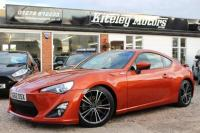 USED 2012 62 TOYOTA GT86 2.0 D-4S GT86 Coupe 3dr Petrol Manual (181 g/km, 201 bhp)