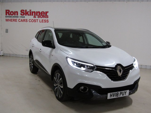 View our 2018 18 RENAULT KADJAR 1.5 SIGNATURE NAV DCI 5d 110 BHP