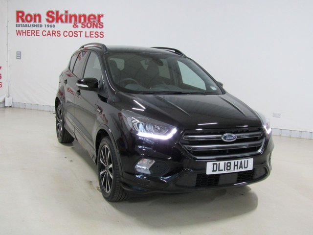View our 2018 18 FORD KUGA 1.5 ST-LINE 5d 148 BHP with Rear Privacy Glass