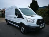 USED 2015 15 FORD TRANSIT 2.2 350 SHR P/V 1d 124 BHP ONE OWNER - DIRECT LEASE COMPANY