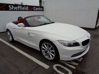 USED 2011 61 BMW Z4 2.5 Z4 SDRIVE23I HIGHLINE EDITION 2d 201 BHP £286 A MONTH FULL LEATHER FULL SERVICE HISTORY HEATED WINDSCREEN CLIMATE CONTROL ELECTRIC WINDOWS AND MIRRORS