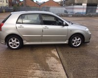 USED 2006 06 TOYOTA COROLLA 1.4 T3 COLOUR COLLECTION VVT-I 5d 92 BHP