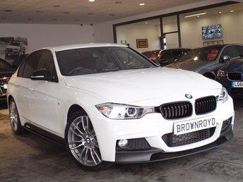 2014 BMW 3 SERIES 2.0 320D XDRIVE M SPORT 4d AUTO 181 BHP £17990.00