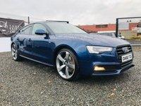 2012 AUDI A5 2.0 SPORTBACK TDI S LINE 5d 177 BHP £10995.00