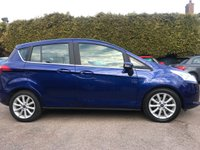 2015 FORD B-MAX 1.0 TITANIUM ECOBOOST 5dr ONE PRIVATE OWNER FROM NEW  £8000.00