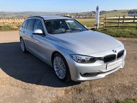 2012 BMW 3 SERIES 2.0 320D LUXURY TOURING 5d AUTO 181 BHP £12995.00