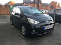 USED 2015 65 HYUNDAI I10 1.0 S BLUE DRIVE 5d 65 BHP ONLY 7642 MILES, LOW CO2 EMISSIONS AND £20 ROAD TAX! EXCELLENT FUEL ECONOMY, ONLY 7642 MILES FROM NEW, WITH CD AND USB INPUT AND CENTRAL LOCKING!