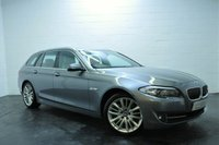 USED 2011 11 BMW 5 SERIES 3.0 530D SE TOURING 5d AUTO 242 BHP REVERSING CAMERA + FULL SERVICE HISTORY