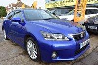 2011 LEXUS CT 1.8 200H SE-I 5d AUTO 136 BHP £6999.00