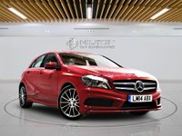 USED 2014 14 MERCEDES-BENZ A CLASS 1.5 A180 CDI BLUEEFFICIENCY AMG SPORT 5d 109 BHP +  Leather Interior, Bluetooth
