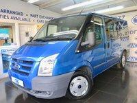 2010 FORD TRANSIT 2.2 280 TREND TOURNEO 9 STR 5d 115 BHP £4000.00
