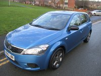 2010 KIA CEED 1.4 STRIKE 5d 89 BHP £SOLD