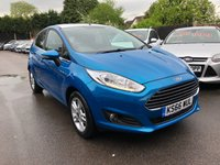 USED 2017 66 FORD FIESTA 1.0 ZETEC BLUE EDITION SPRING ECOBOOST (100PS) THIS VEHICLE IS AT SITE 1 - TO VIEW CALL US ON 01903 892224