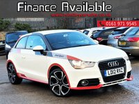 USED 2012 12 AUDI A1 1.6 TDI COMPETITION LINE 3d 105 BHP RARE COMPETITION+ZERO TAX