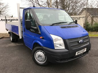 2013 FORD TRANSIT 350 RWD 2.2 6 SPEED 14.5 DROPSIDE ALLOY BODY TAILLIFT £7750.00