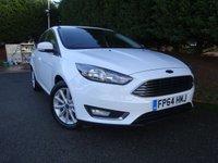 2014 FORD FOCUS 1.5 TITANIUM 5d 148 BHP £9695.00