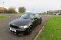 2010 BMW 1 SERIES 2.0 118D SPORT 2d Black,Black Alloys,Leather,F.S.H £6995.00