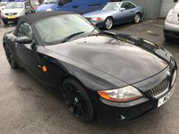 USED 2008 BMW Z4 3.0 Z4 SE ROADSTER 2d AUTO 228 BHP CONVERTIBLE IN BLACK WITH BLACK ALLOYS AND 86000 MILES. APPROVED CARS ARE PLEASED TO OFFER THIS BEAUTIFUL 2008 BMW Z4 3.0L SE CONVERTIBLE IN METALLIC BLACK. 3 DOOR 228 BHP IN BLACK WITH 86000 MILES IN GREAT CONDITION WITH A FULL SERVICE HISTORY SERVICED AT 17K,32K,47K,67K AND 84K  IN BLACK WITH A BEIGE FULL LEATHER INTERIOR. THE PRIVATE PLATE WILL NOT BE INCLUDED IN THE SALE AND THE ORIGINAL PLATE IS YJ08VRW.