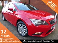 USED 2015 65 SEAT LEON 1.6 TDI SE TECHNOLOGY 5d 110 BHP Seat Dealer Service History Excellent Value Low Mileage Seat Leon SE Technology