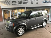 USED 2013 63 LAND ROVER DISCOVERY 3.0 4 SDV6 XS 5d AUTO 255 BHP LAND ROVER DISCOVERY 3.0 4 SDV6 XS 5d AUTO 255 BHP