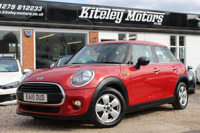 2015 15 MINI HATCH ONE  1.2 One (s/s) 5dr