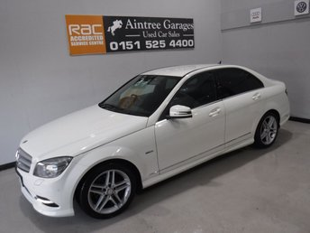 2010 MERCEDES-BENZ C CLASS 2.1 C250 CDI BLUEEFFICIENCY SPORT 4d 204 BHP £8490.00