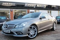 USED 2010 60 MERCEDES-BENZ E-CLASS 3.0 E350 CDI BlueEFFICIENCY Sport G-Tronic 2dr