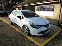 USED 2014 64 RENAULT CLIO 1.5 DYNAMIQUE S MEDIANAV ENERGY DCI S/S 5d 90 BHP # ZERO ROAD TAX # 2 KEYS # FULL SERVICE HISTORY # 2 KEEPERS # SAT NAV  #